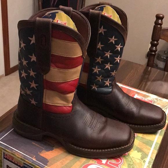 0ae20821adf Men's Durango American Flag Cowboy Boots